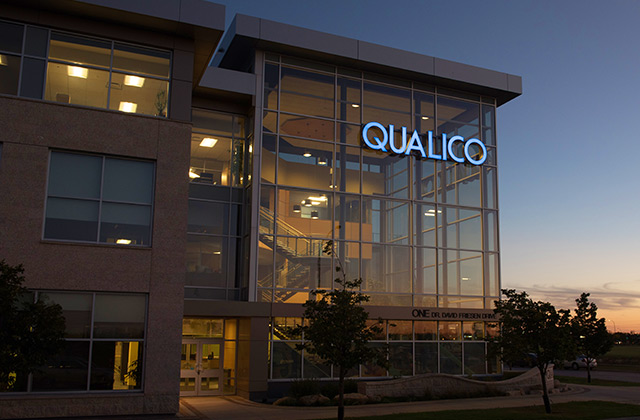 We Live Here - Qualico Head Office